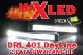 Światła do jazdy dziennej LED DRL 401 MaxLed Dayline Daylight Guide style