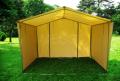 Namioty handlowe standardowe z rurek stalowych ocynkowanych, trwała i solidna konstrukcja.
