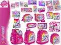 Produkty szkolne z licencji MY LITTLE PONY- tornistry, plecaki, worki, torby, piórniki, śniadaniówki, bidony, zestawy śniadaniowe, teczki, bloki, kredki, zeszyty, notatniki, wycinanki, ołówki, itp.