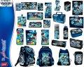 Produkty szkolne z kolekcji MAX STEEL - plecaki, piórniki, torby,worki, śniadaniówki, bidony, zestawy śniadaniowe, zeszyty, bloki, kredki, teczki, flamastry, segregatory, farby, plastelina, bruliony, długopisy, ołówki, itp.