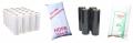 • torebki foliowe polipropylenowe (wysoko przezroczyste z nadrukiem)