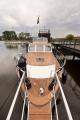 13 metrowy komfortowy houseboat do żeglugi śródlądowej