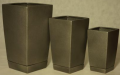 High square pots - available in 15 colors