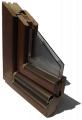 Ekskluzywne okna drewniane 68 mm