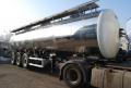 Naczepa do transportu płynnych produktów spozywczych