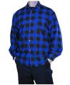 Koszula flanelowa robocza wykonana z wysokiej jakości flaneli 100% bawełna