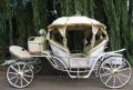 Kopciuszek - przepiękny powóz ślubny o jakim marzy każda młoda para.
