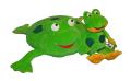 Zestaw poduszka i maskotka Żabka Ela