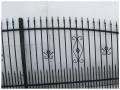 Brama ozdobna z profilu z furtką i ze słupkami 4 m + 1 m  http://bigstal.all.biz/