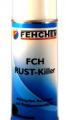 Barniz acrílico-poliuretano especialmente formulado resistente a altas y bajas temperaturas, convertidor de óxido Fehchem Rust Killer