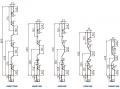 Profile burtowe standardowe z listwą uszczelniająca wewnętrzną lub zewnętrzną