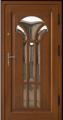 Drzwi zewnętrzne ramiakowe 75mm obłogowane dębem