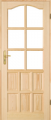 Drzwi surowe sosonowe