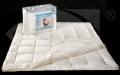 Kołdra - Wypełnienie kołder i poduszek w postaci włókien poliestrowych o właściwościach antyalergicznych zapewnia wygodę i zdrowy odpoczynek.