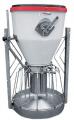 Automat tubowy do pasz suchych lub wilgotnych z jednoczesnym dostępem do wody
