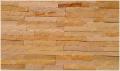 Kamień dekoracyjny Żółty panel 10x40