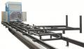 Trak Tarczowy pionowo-poziomy Walter TTPP 450-550 z dwiema jednocześnie pracującymi piłami, dzięki czemu wykonuje dwa rodzaje cięć w jednym cyklu