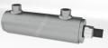 Siłownik hydrauliczny dwustronnego działania typu CB