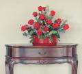 Klasyczne kompozycje z kwiatów stabilizowanych.