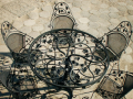 Meble artystyczne z kutej stali wykonywane według indywidualnego projektu.
