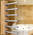 Grzejnik na podstawie granitowej (5 kolorów do wyboru) z 6 drążkami do suszenia ręczników