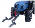 Podnośnik hydrauliczny czołowy typu TUZ - kompatybilny z każdym typem traktora.