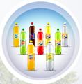 Napój FIL , na bazie wody mineralnej, rozlewany do butelek o pojemności 1,5L