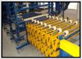 Przenośniki do transportu poziomego rolkowe, nożycowe, taśmowe oraz belkowe wg. wymagań klienta.