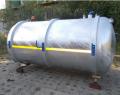 Solidna beczka asenizacyjna  z opcją otwierania tylnej dennicy hydraulicznie lub stałej.