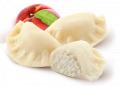 Pierogi z serem i brzoskwiniami