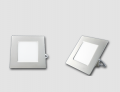 Oprawy typu downlight square. Moc.  3W ~ 18W
