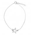 Piękna i subtelna srebrna bransoletka typu celebrytka to biżuteria którą pokochały gwiazdy, doskonała jakość, konkurencyjna cena, motyw gwiazdka.