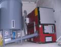 Kocioł CO 50kW - 2MW na rozdrobnione drewno (trociny, zrębki)