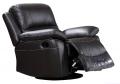 Fotel bujano-obrotowy z funkcją relaks