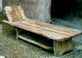 Leżaki do ogrodu, saun i obiektów letniskowych wykonane z drewna.