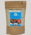 Bezglutenowy zagęstnik do sosów warzywnych i mięsnych, mielone ziarna trawy słoniowej.