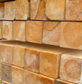Bale drewniane okrągłe i kwadratowe, ilości tylko całotirowe i hurtowe.