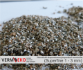 Wermikulit ekspandowany Frakcja Superfine 1 - 3 mm