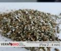 Wermikulit ekspandowany Frakcja Fine 2 - 4 mm