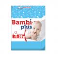 Pieluchy Bambi Plus Maxi 56