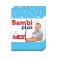 Pieluchy Bambi Plus Junior 48