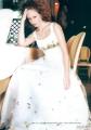 """Платье тюль """"Marysieńka"""" с искусственными цветами"""