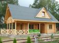 """Dom drewniany z bali  """"Jagoda"""""""