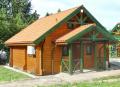 """Domek drewniany  """"Wiartel"""""""