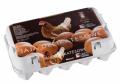 Jaka z chowu klatkowego 3 PL w rozmiarze Xl, L i M, jajka są pakowane w kartoniki lub opakowanie plastikowe.