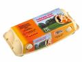 Jaja z chowu wolnowybiegowego klasy wagowej L, jajka wolny wybieg 1 PL pakowane po 6 i 10 sztuk.