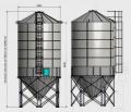 Silosy lejowe 24-85 ton