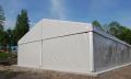 Hale namiotowe stalowe i aluminiowe z montażem, konstrukcje znajdują zastosowanie jako hale bankietowe, namioty na imprezy typu piknik, wesele, komunia, powierzchnie magazynowe i inne.