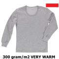 Podkoszulki z długim rękawem do pracy w niskiej temperaturze, termoaktywne, wygodne, elastyczne, przyjemne w dotyku i wytrzymałe, producent.