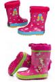 Les bottes d'enfant de caoutchouc